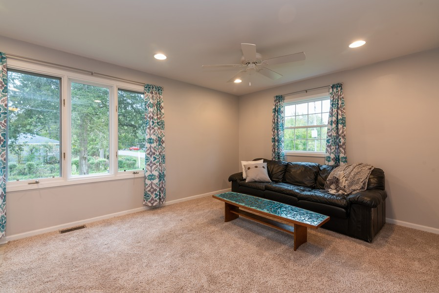 Real Estate Photography - 2717 Cherry Dr, Wonder Lake, IL, 60097 - Living Room