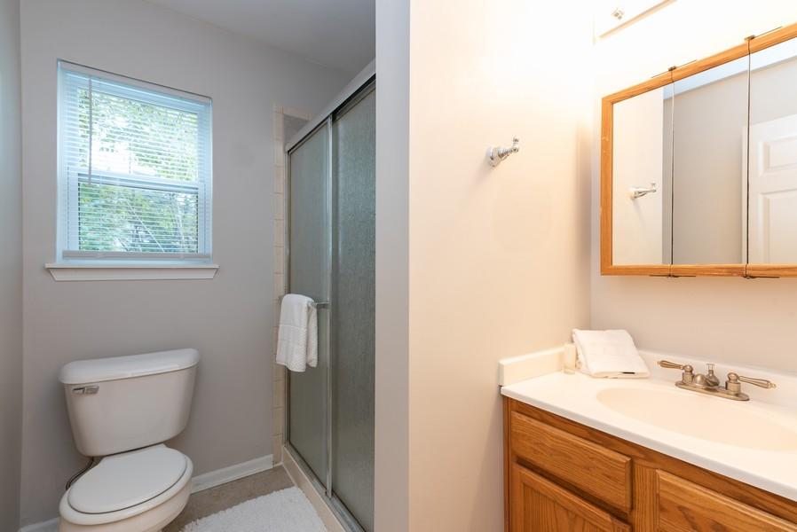 Real Estate Photography - 2717 Cherry Dr, Wonder Lake, IL, 60097 - Bathroom