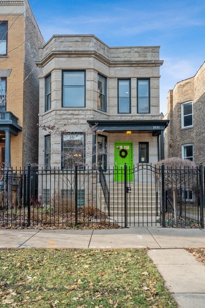 Real Estate Photography - 2630 North Troy St, Chicago, IL, 60647 - 2630 N Troy Exterior Front