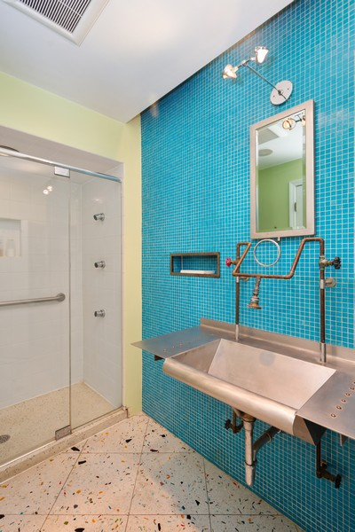 Real Estate Photography - 2630 North Troy St, Chicago, IL, 60647 - 2nd Floor Bathroom