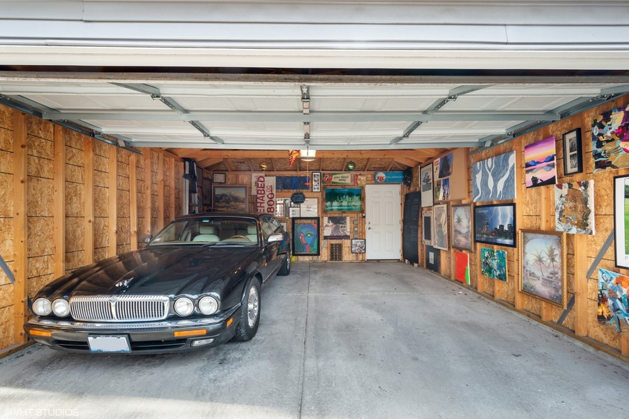 Real Estate Photography - 2630 North Troy St, Chicago, IL, 60647 - Garage 26230 Troy