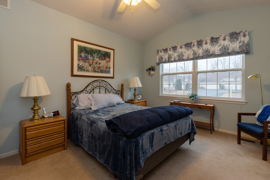 Real Estate Photography - 2261 Meadowcroft Ln, Grayslake, IL, 60030 - Master Bedroom