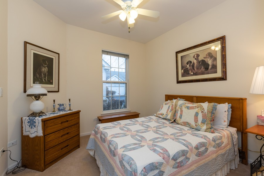 Real Estate Photography - 2261 Meadowcroft Ln, Grayslake, IL, 60030 - Bedroom