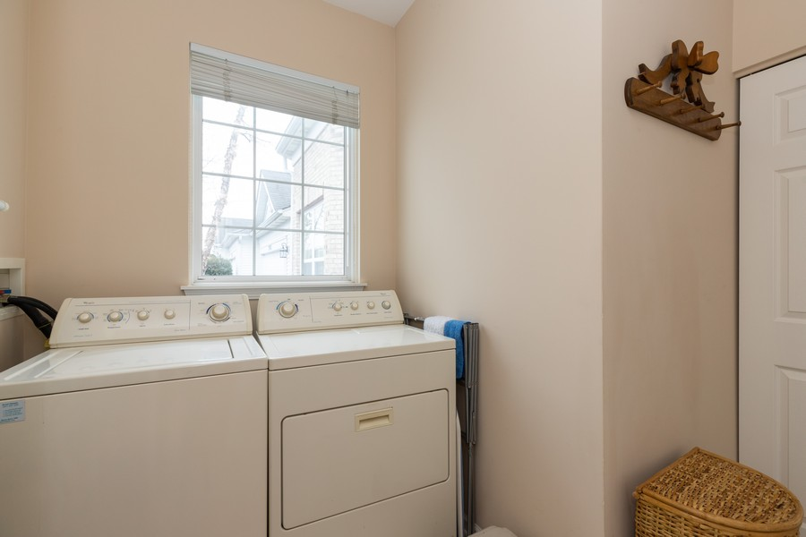 Real Estate Photography - 2261 Meadowcroft Ln, Grayslake, IL, 60030 - Laundry Room