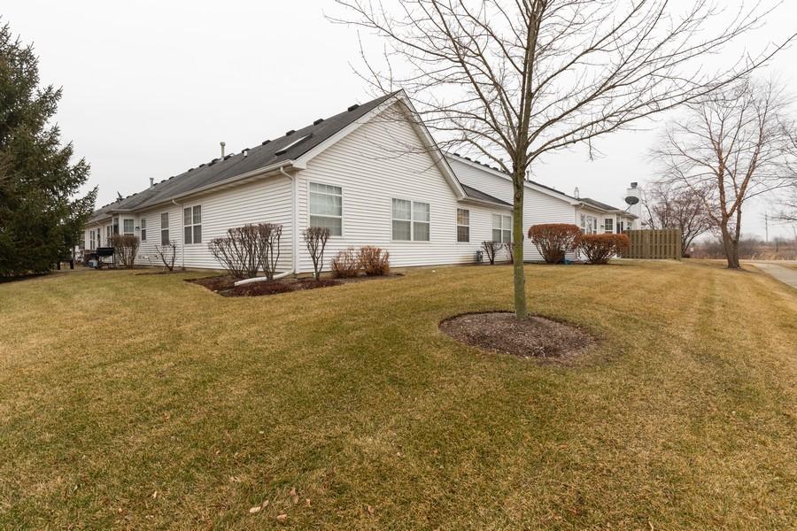 Real Estate Photography - 2261 Meadowcroft Ln, Grayslake, IL, 60030 - Rear View