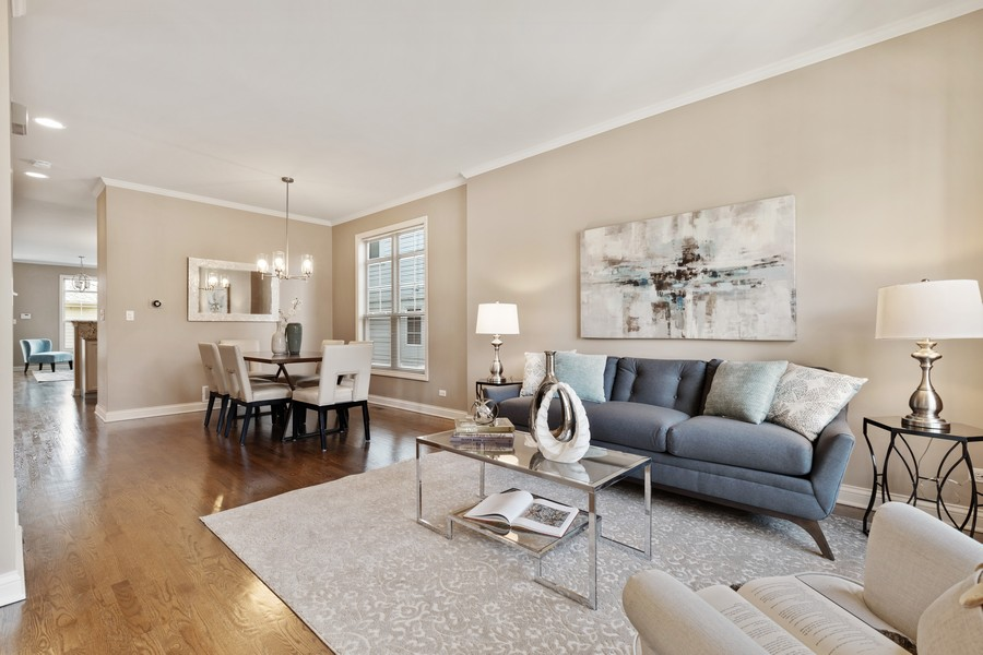 Real Estate Photography - 2307 Sundrop Dr, Glenview, IL, 60026 - Living Room