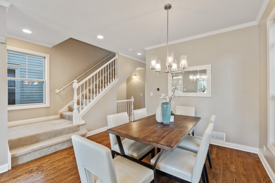 Real Estate Photography - 2307 Sundrop Dr, Glenview, IL, 60026 - Dining Room
