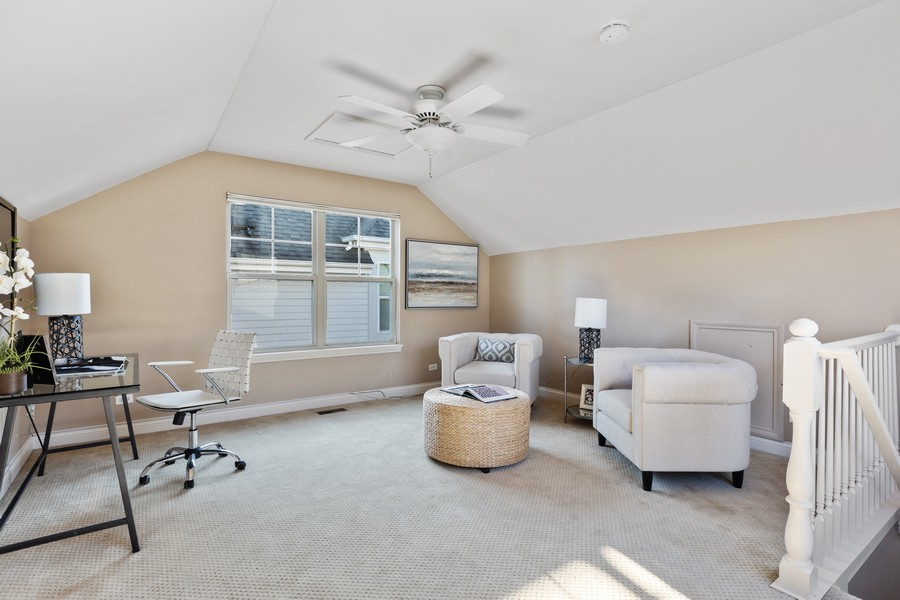 Real Estate Photography - 2307 Sundrop Dr, Glenview, IL, 60026 - 4th Bedroom/ Den