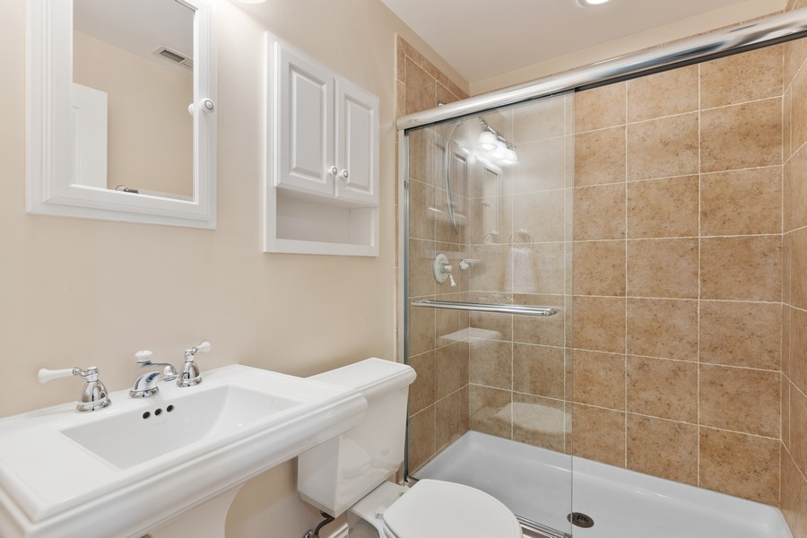 Real Estate Photography - 2307 Sundrop Dr, Glenview, IL, 60026 - 2nd Bathroom