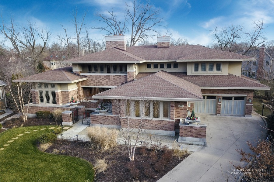 Real Estate Photography - 908 Julian Ct, Naperville, IL, 60540 - Aerial of 908 Julian