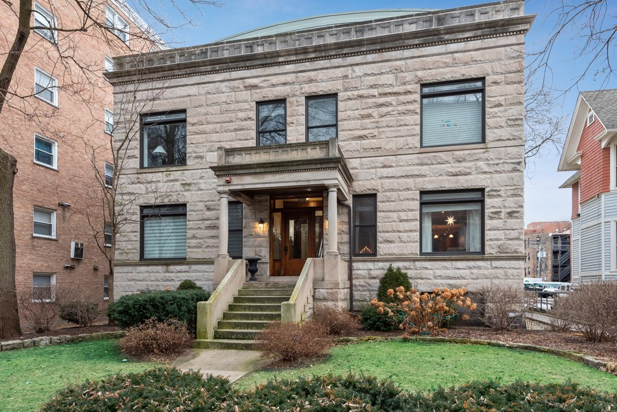 Real Estate Photography - 1112 Church St, 1, Evanston, IL, 60201 - Front View