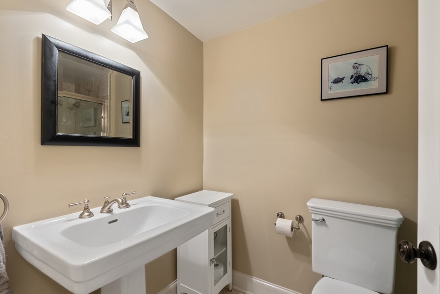 Real Estate Photography - 1112 Church St, 1, Evanston, IL, 60201 - Bathroom