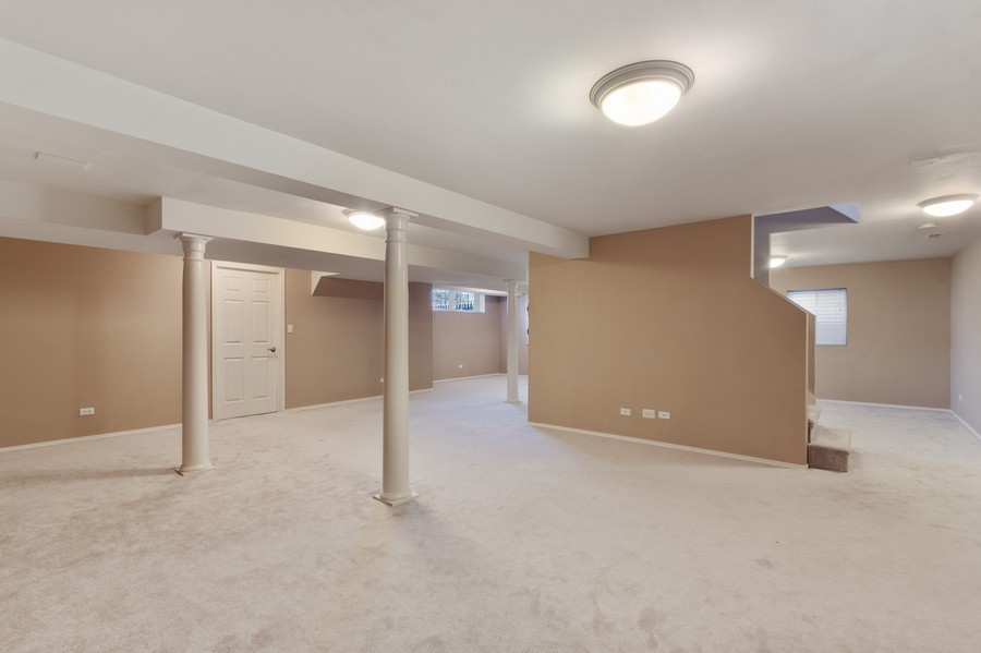 Real Estate Photography - 685 Kendridge Ct, Aurora, IL, 60502 - Basement