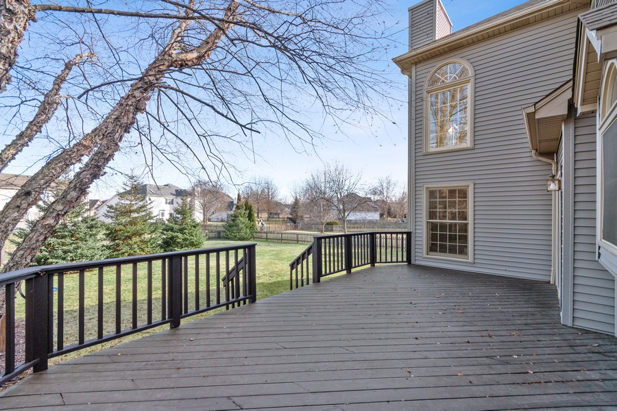 Real Estate Photography - 685 Kendridge Ct, Aurora, IL, 60502 - Back Yard