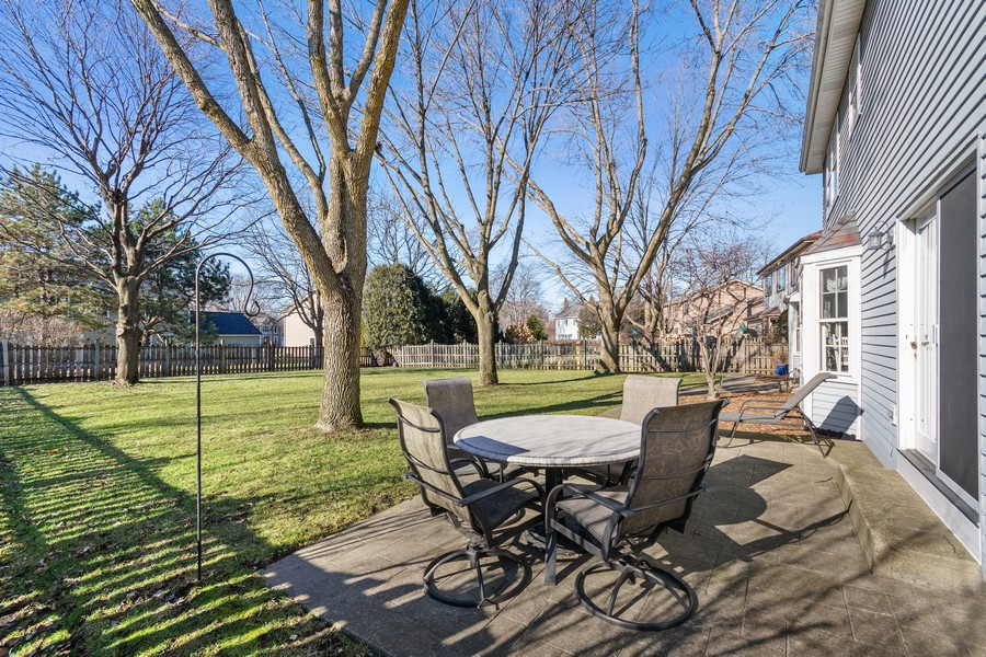 Real Estate Photography - 914 Monticello Dr, Naperville, IL, 60563 - Back Yard