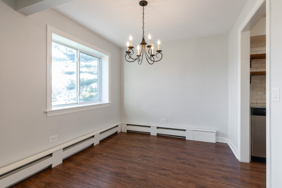 Real Estate Photography - 1215 North Waterman Ave, 2E, Arlington Heights, IL, 60004 - Dining Room