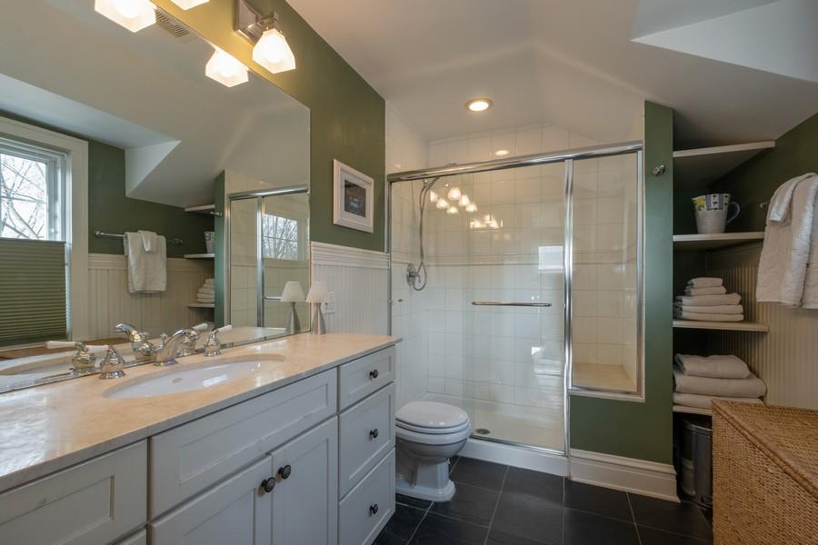 Real Estate Photography - 2630 Lawndale Ave, Evanston, IL, 60201 - Master Bathroom