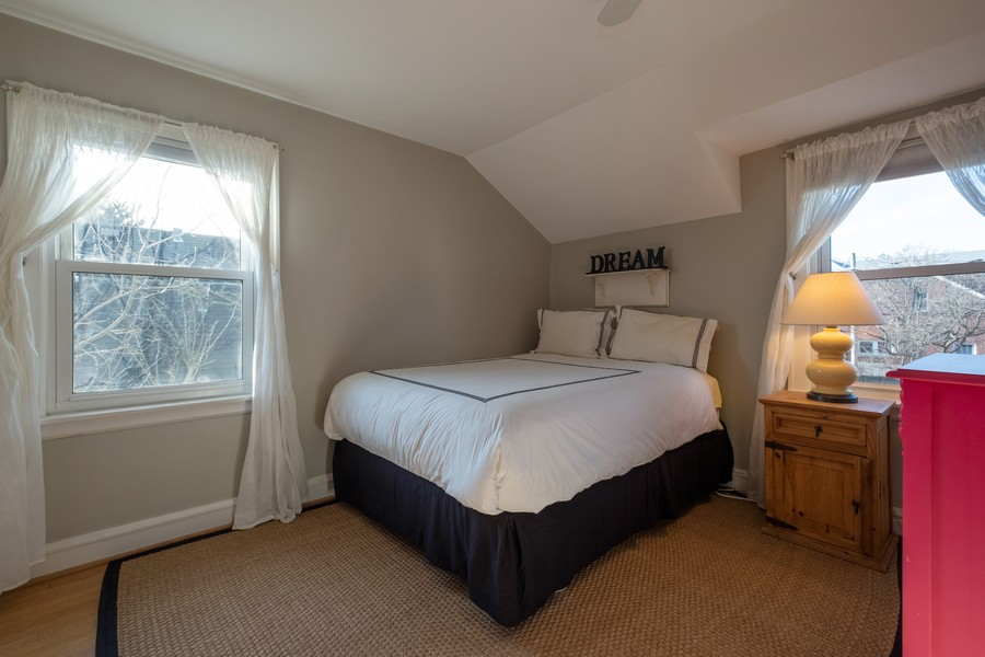 Real Estate Photography - 2630 Lawndale Ave, Evanston, IL, 60201 - 2nd Bedroom