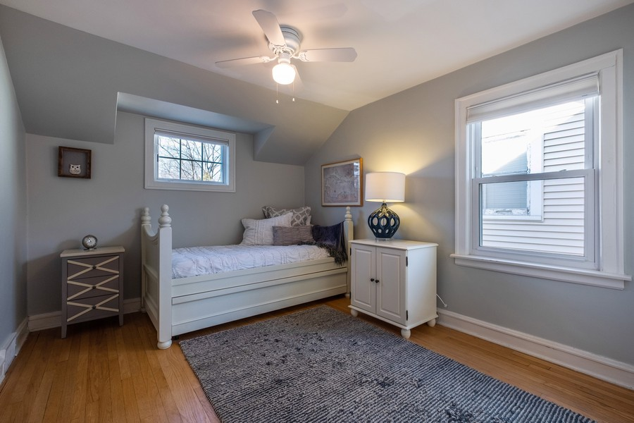 Real Estate Photography - 2630 Lawndale Ave, Evanston, IL, 60201 - 3rd Bedroom