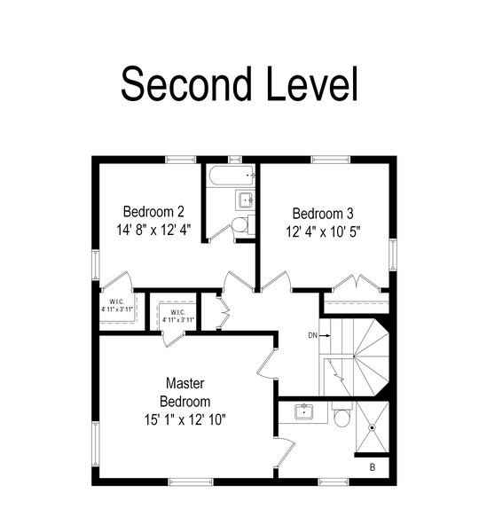 Real Estate Photography - 2630 Lawndale Ave, Evanston, IL, 60201 - Floor Plan
