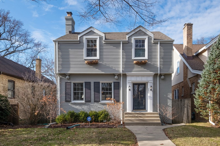 Real Estate Photography - 2630 Lawndale Ave, Evanston, IL, 60201 - Front View