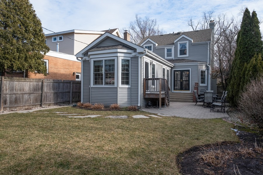 Real Estate Photography - 2630 Lawndale Ave, Evanston, IL, 60201 - Rear View