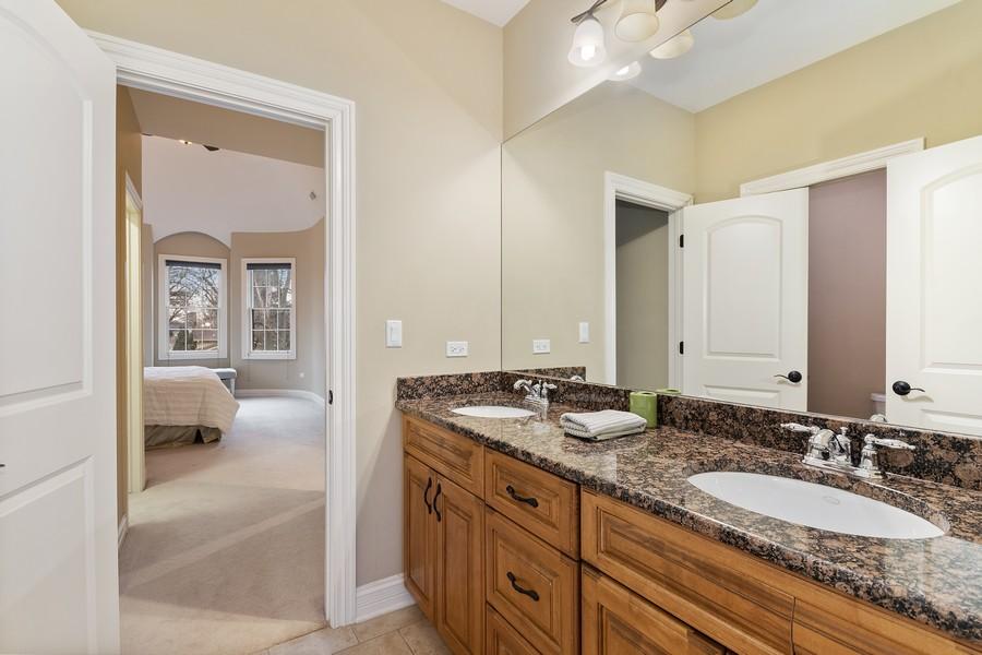 Real Estate Photography - 815 Iris Ln, Naperville, IL, 60540 - 3rd Bathroom