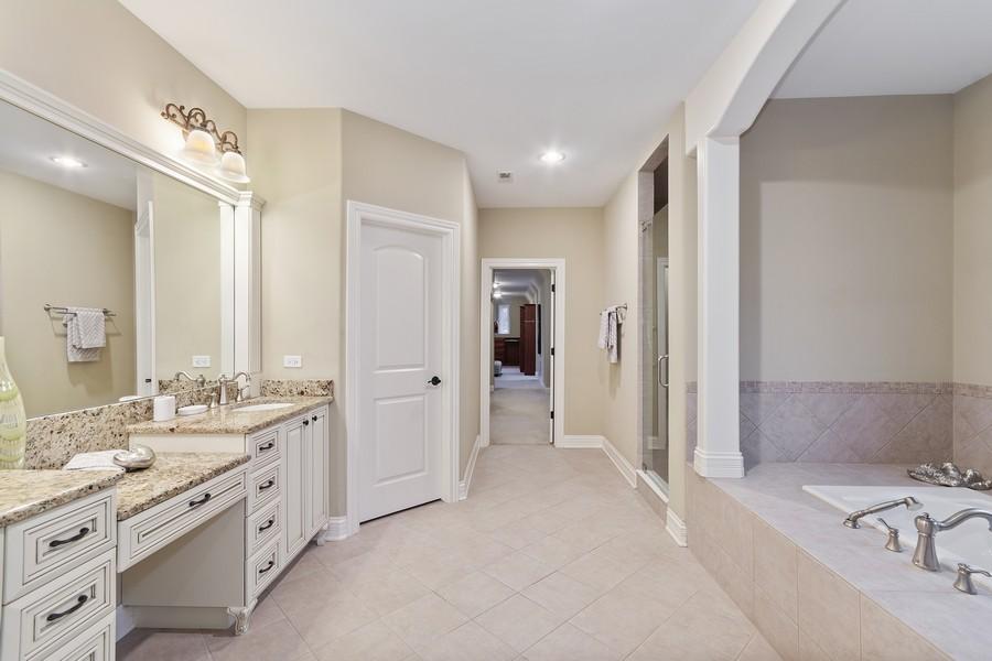 Real Estate Photography - 815 Iris Ln, Naperville, IL, 60540 - Master Bathroom