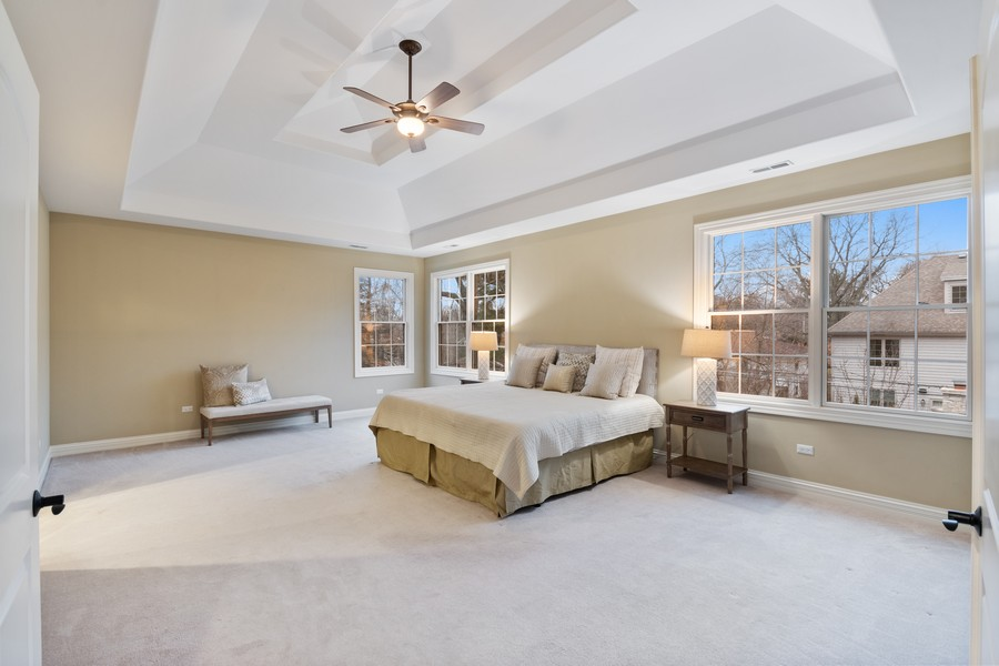 Real Estate Photography - 815 Iris Ln, Naperville, IL, 60540 - Master Bedroom