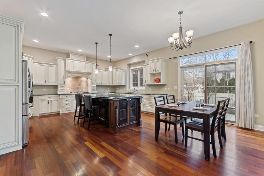 Real Estate Photography - 815 Iris Ln, Naperville, IL, 60540 - Kitchen