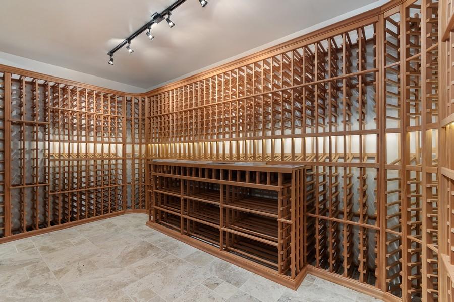 Real Estate Photography - 815 Iris Ln, Naperville, IL, 60540 - Wine Cellar