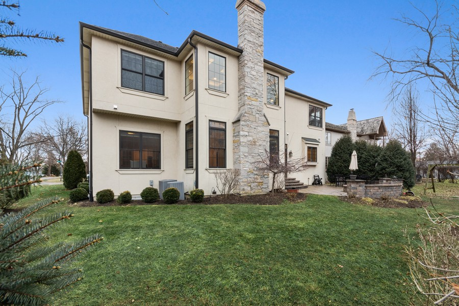Real Estate Photography - 815 Iris Ln, Naperville, IL, 60540 - Back Yard