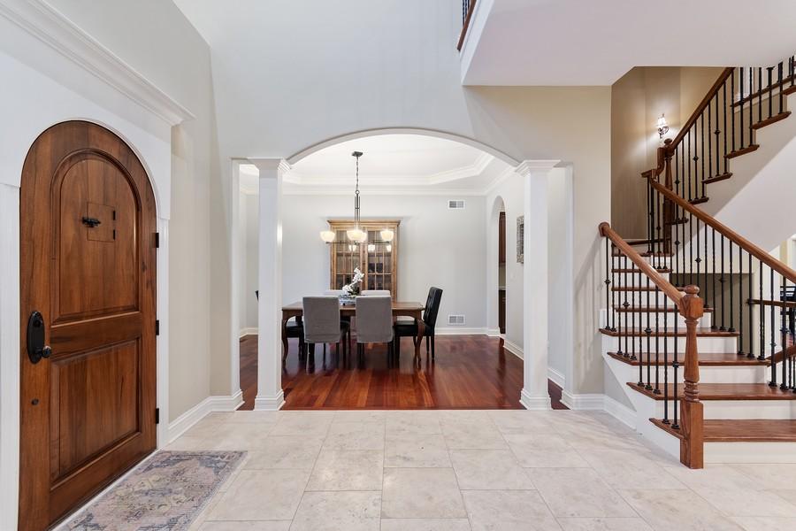 Real Estate Photography - 815 Iris Ln, Naperville, IL, 60540 - Foyer