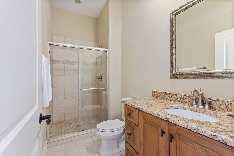 Real Estate Photography - 815 Iris Ln, Naperville, IL, 60540 - 2nd Bathroom