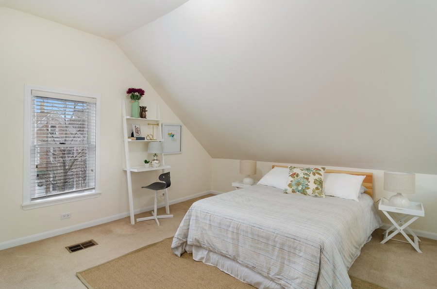 Real Estate Photography - 1938 North Oakley Ave, Chicago, IL, 60647 - 2nd Bedroom