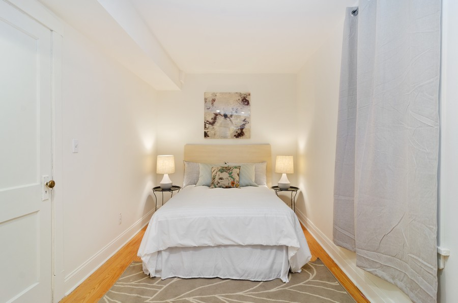 Real Estate Photography - 1938 North Oakley Ave, Chicago, IL, 60647 - 4th Bedroom