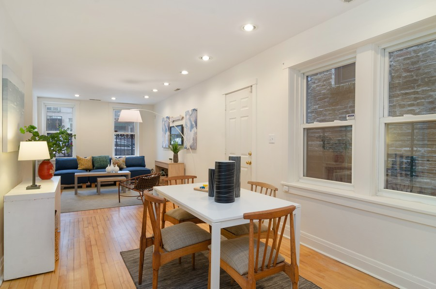 Real Estate Photography - 1938 North Oakley Ave, Chicago, IL, 60647 - Family Room