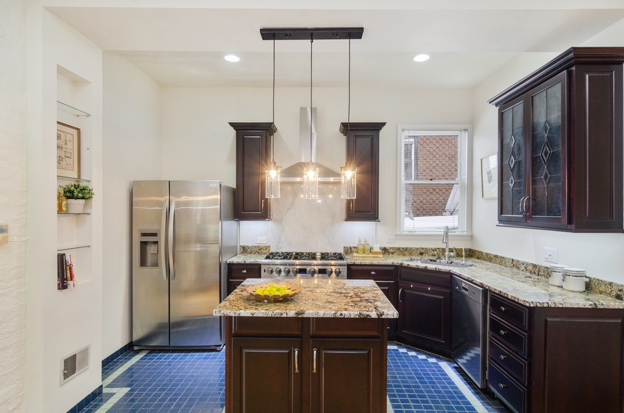 Real Estate Photography - 1938 North Oakley Ave, Chicago, IL, 60647 - Kitchen