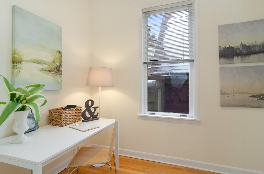 Real Estate Photography - 1938 North Oakley Ave, Chicago, IL, 60647 - 3rd Bedroom