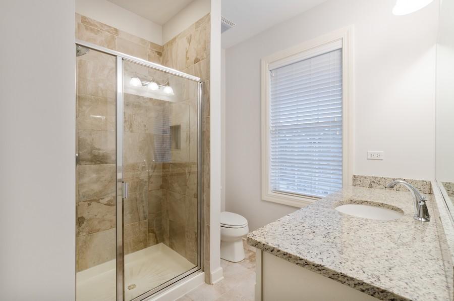 Real Estate Photography - 1673 Church St, Evanston, IL, 60201 - Master Bathroom