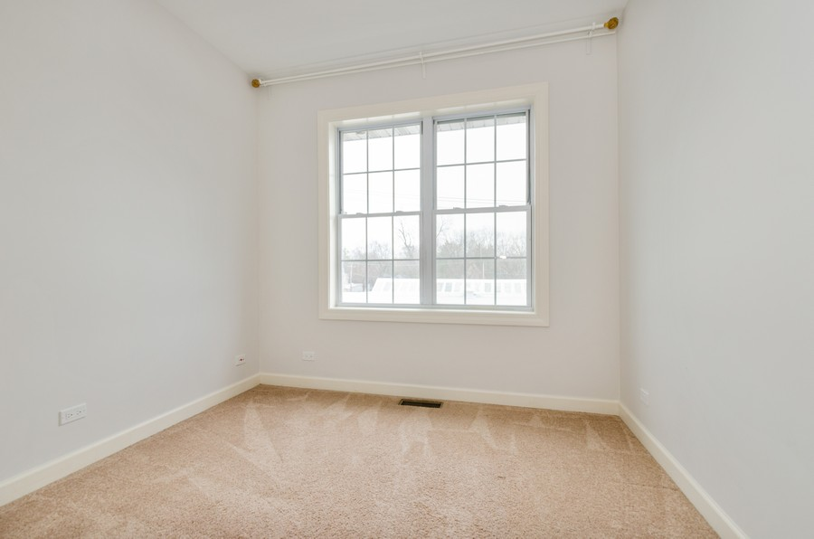 Real Estate Photography - 1673 Church St, Evanston, IL, 60201 - 2nd Bedroom