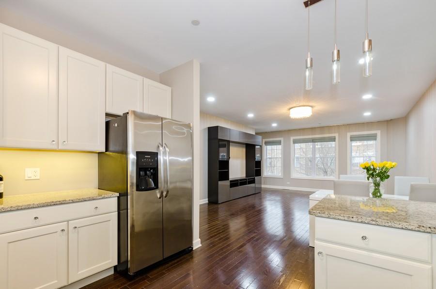 Real Estate Photography - 1673 Church St, Evanston, IL, 60201 - Kitchen