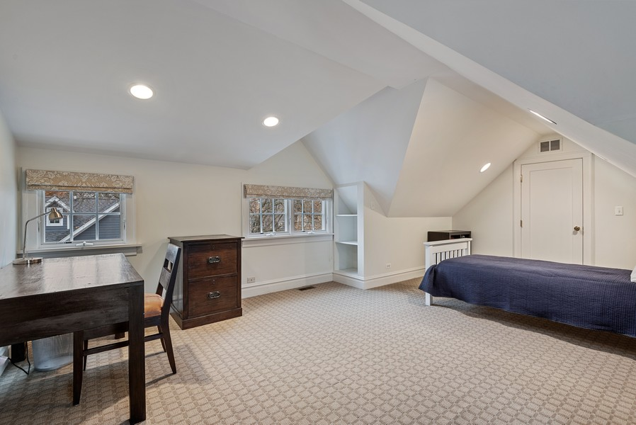 Real Estate Photography - 132 Park Ave, Wilmette, IL, 60091 - 4th Bedroom