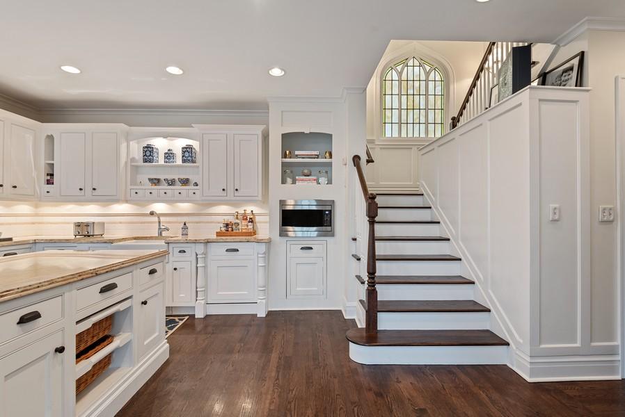 Real Estate Photography - 132 Park Ave, Wilmette, IL, 60091 - Kitchen