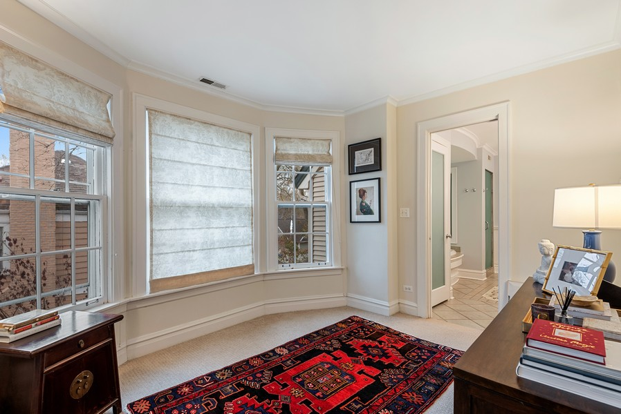 Real Estate Photography - 132 Park Ave, Wilmette, IL, 60091 - Master Bedroom