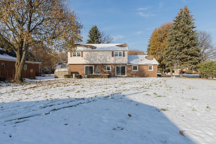 Real Estate Photography - 515 E Ridge Rd, Arlington Heights, IL, 60004 - Rear View