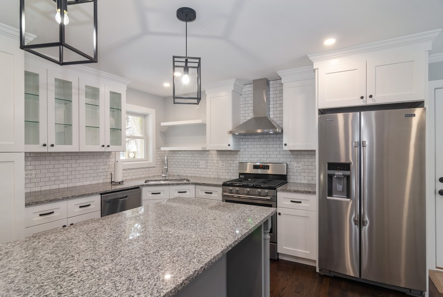 Real Estate Photography - 908 Royal St George Dr, Naperville, IL, 60563 - Kitchen