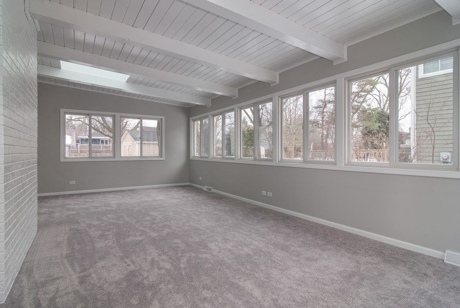 Real Estate Photography - 908 Royal St George Dr, Naperville, IL, 60563 - Sunroom