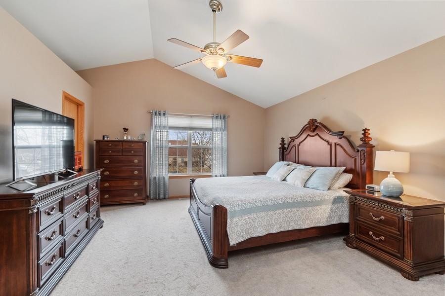 Real Estate Photography - 2624 Schooner Dr, New Lenox, IL, 60451 - Master Bedroom