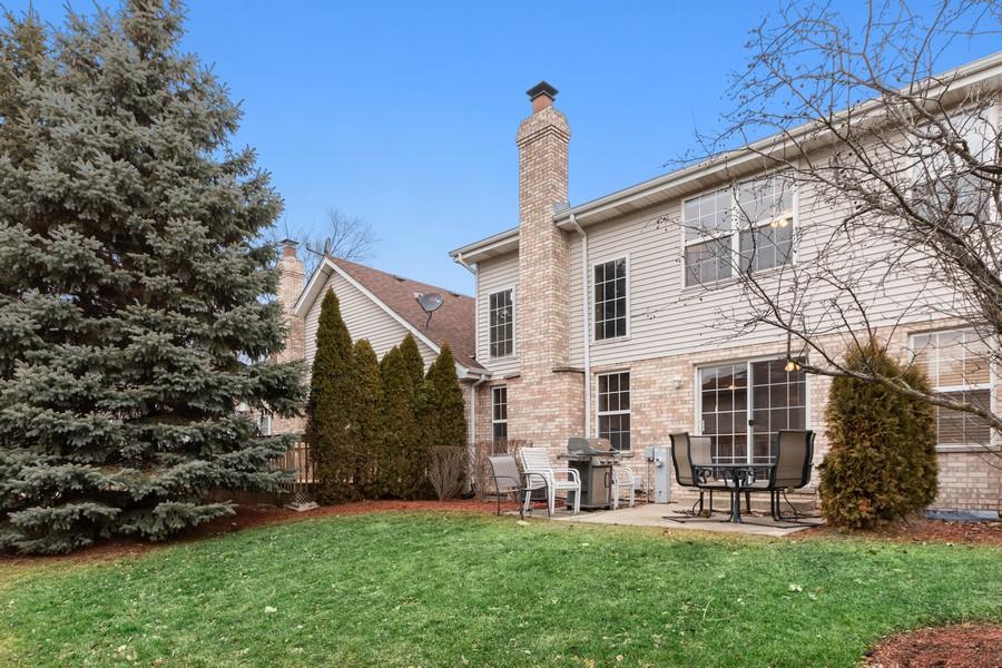 Real Estate Photography - 2624 Schooner Dr, New Lenox, IL, 60451 - Back Yard